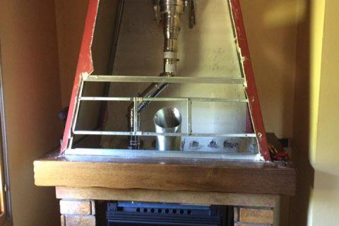 installazione stufa a pellet canna fumaria